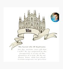 COME TO MILAN Photographic Print