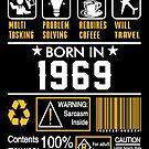 Birthday Gift Ideas - Born In 1969 by wantneedlove