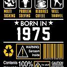 Birthday Gift Ideas - Born In 1975 by wantneedlove