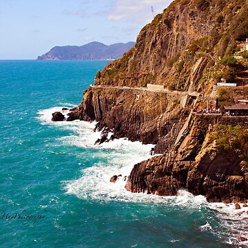 Via dell'amore - Cinque Terre - Italy by Photograph2u