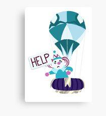 help clown Canvas Print