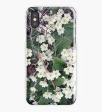 Primroses in the Undergrowth iPhone Case/Skin