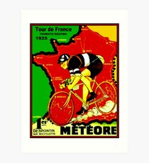 TOUR DE FRANCE; Vintage Cycle Racing Advertising Print Art Print
