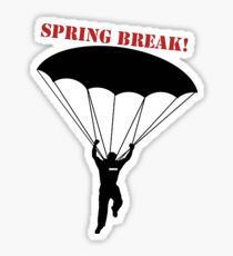 Cooper's Spring Break Sticker