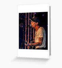 Justin Townes Earle. Greeting Card