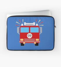 Red Fire Engine Laptop Sleeve