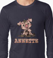 Annette Piggy Long Sleeve T-Shirt