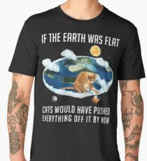 If The Earth Was Flat V01 Men's Premium T-Shirt