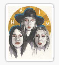 Haim sister sister sister Sticker