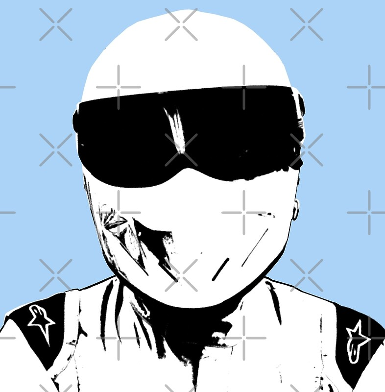 top gear the stig pop art art prints by topgearbox redbubble. Black Bedroom Furniture Sets. Home Design Ideas