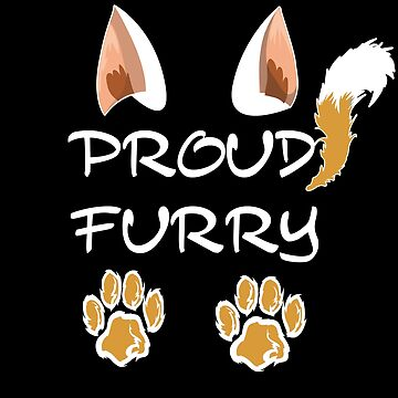 Proud Furry , Furry Pride Design by BBOnline