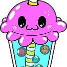 Takoyaki Octopus Bubble Tea  by ArtFr33k