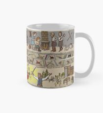 Panels 5 to 8 of the Gabeaux Tapestry, the Outlander story Mug