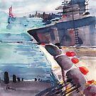 Alameda Naval Base by Carrie Alyson