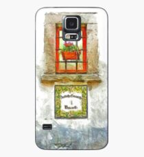Window with flower pot Case/Skin for Samsung Galaxy