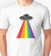 UFO Rainbow Unisex T-Shirt