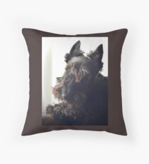 Scottie Dog: Paddy the 'Rescue' 2 Throw Pillow