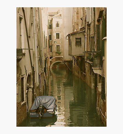 VENICE- PHOTO OR WATERCOLOR? Photographic Print
