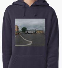 Carrick Crossroads, Donegal(Rectangular)  Pullover Hoodie