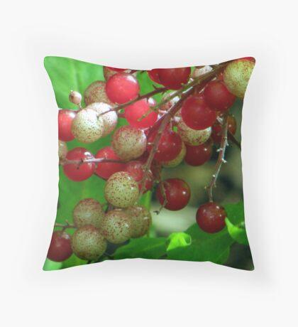 Wildberries Throw Pillow