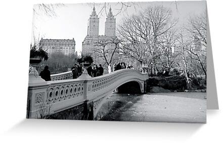 Bow Bridge, Central Park, New York City by Jeff Blanchard