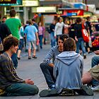The place to meet - Rundle Mall by indiafrank