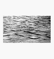 water pavers Photographic Print