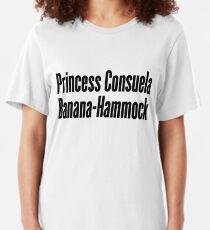 Princess Consuela Banana-Hammock Slim Fit T-Shirt