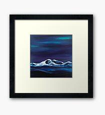 Mountain Rising Framed Print