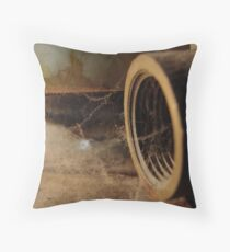 Webby Pipe Throw Pillow