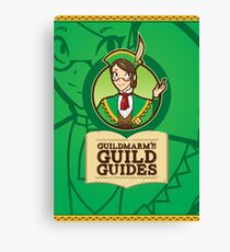 Guildmarm's Guild Guides! Canvas Print