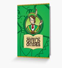 Guildmarm's Guild Guides! Greeting Card