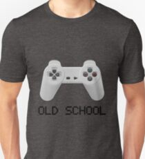Old school - PlayStation (one!) Controller Unisex T-Shirt