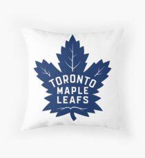 Toronto Maple Leafs Logo Throw Pillow