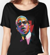 Malcolm X Women's Relaxed Fit T-Shirt