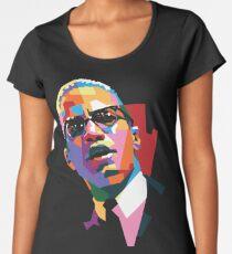 Malcolm X Women's Premium T-Shirt
