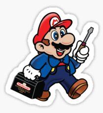 Repairman Mario Sticker
