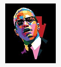 Malcolm X Photographic Print