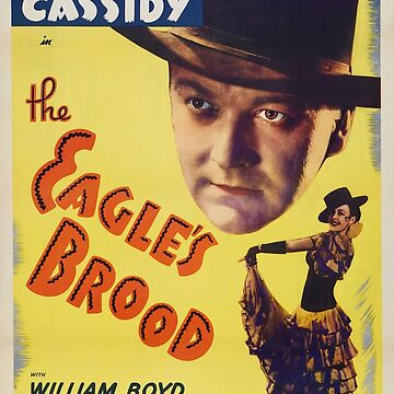 Film poster - 1935 film The Eagle's Brood by PZAndrews
