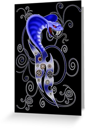 Gothic Snake by LoneAngel