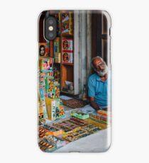 Firework Seller iPhone Case