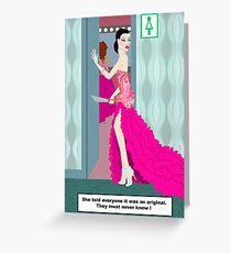Fashion Fatality Greeting Card