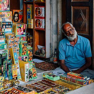 Firework Seller by strangerandfict