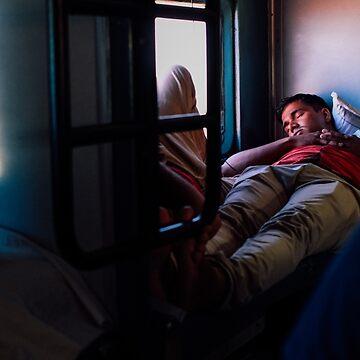 Overnight Train Sleeper by strangerandfict