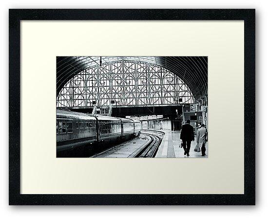 Paddington Station, London,England by Jeff Blanchard