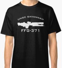 UNSC Savannah FFG-371 Ship Profile Classic T-Shirt