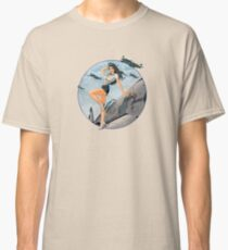 Pin-up-WWII Luftwaffe Vintage Classic T-Shirt