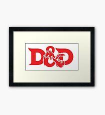 Dungeons & Dragons Framed Print