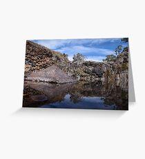 Turpin Falls-Vic  Greeting Card