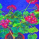 Geranium  by marlene veronique holdsworth